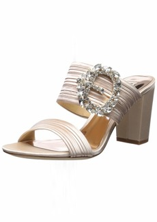 Badgley Mischka Women's Feline Heeled Sandal   M US