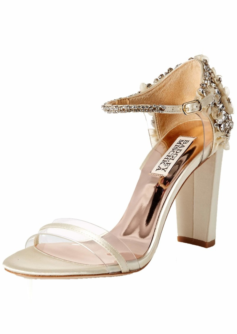 Badgley Mischka Women's Fernanda Heeled Sandal   M US