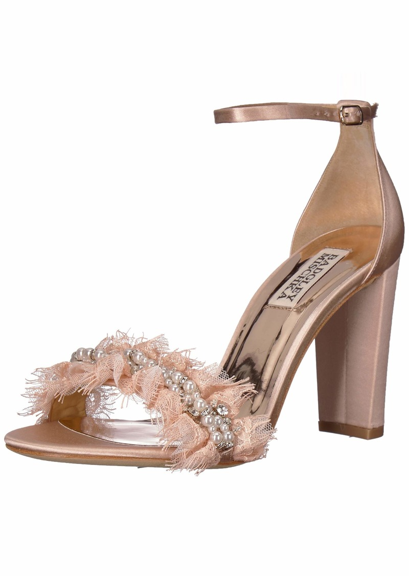 Badgley Mischka Women's Fleur Heeled Sandal   M US