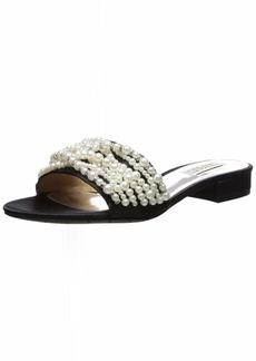 Badgley Mischka Women's Florentina Slide Sandal   M US