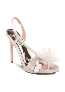 Badgley Mischka Women's Forever Embellished High-Heel Sandals