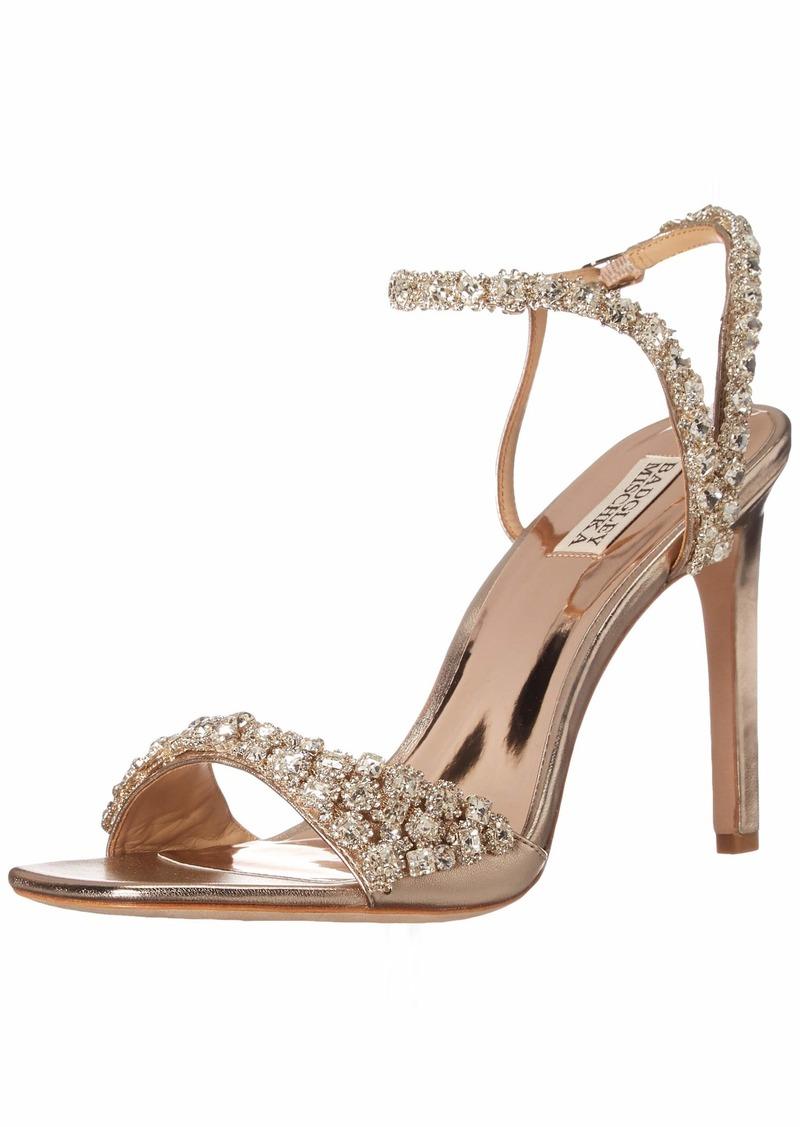 Badgley Mischka womens Galia Heeled Sandal   US