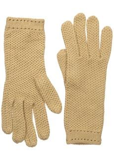 BADGLEY MISCHKA Women's Honeycomb Knit Glove