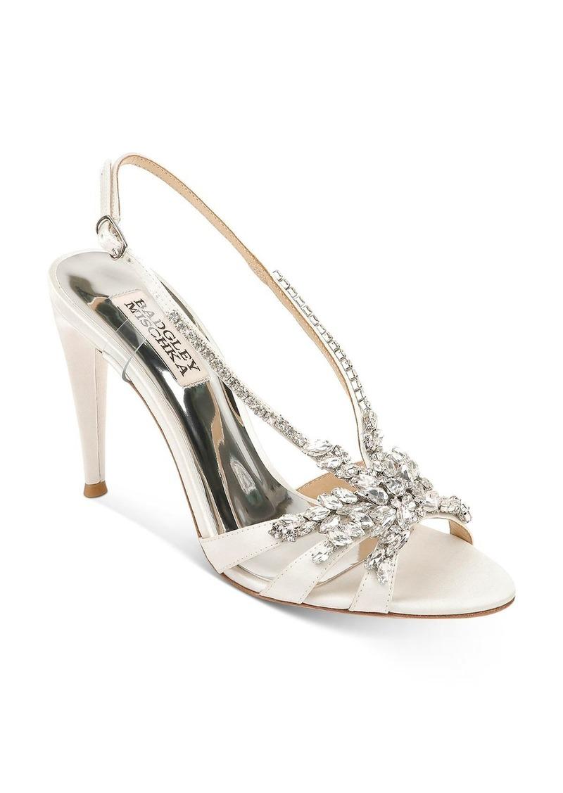 Badgley Mischka Women's Jacqueline Embellished Strappy High-Heel Sandals