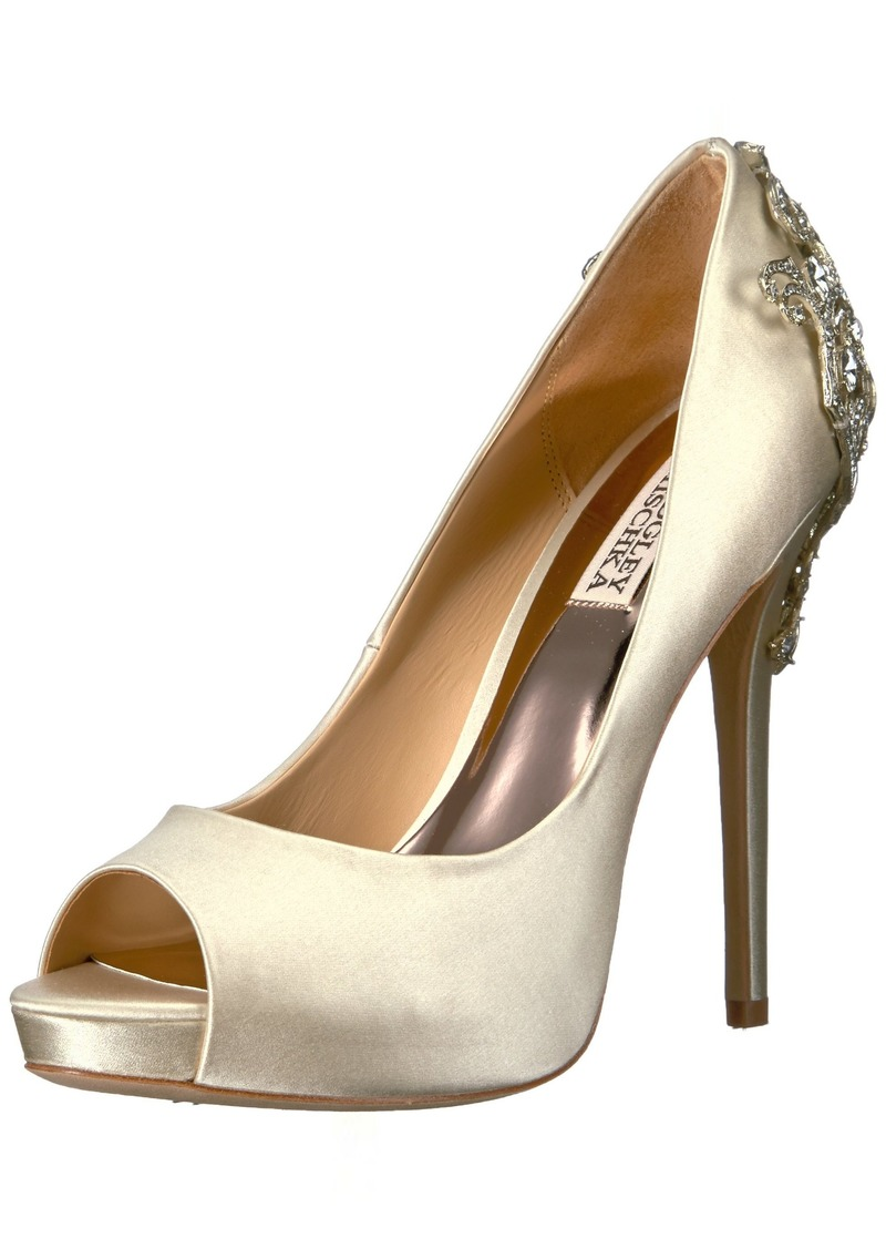 Badgley Mischka Women's Karolina Pump  9.5 Medium US