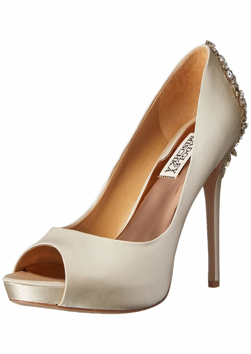 Badgley Mischka Women's Kiara Dress Pump   M US