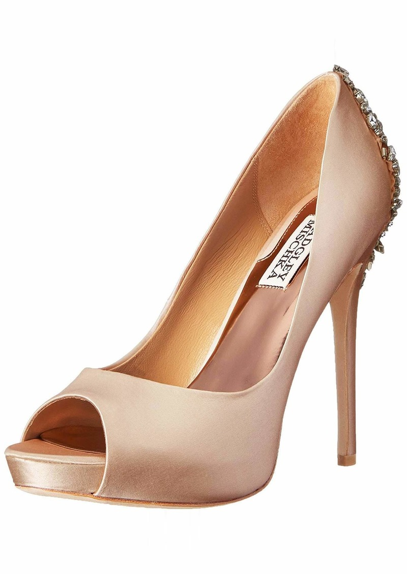 Badgley Mischka Women's Kiara Platform Pump M US