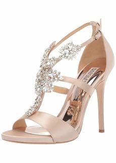 Badgley Mischka Women's Leah Heeled Sandal   M US