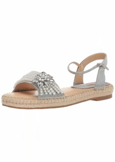 Badgley Mischka Women's Leandra Espadrille Wedge Sandal