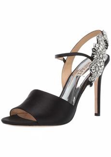 Badgley Mischka Women's Lidia Heeled Sandal   M US