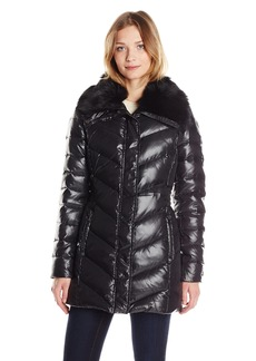 Badgley Mischka Women's Magda Down Coat