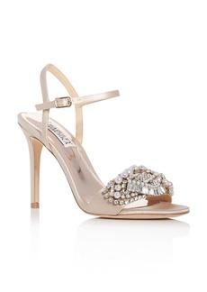 Badgley Mischka Women's Odelia Embellished High-Heel Sandals