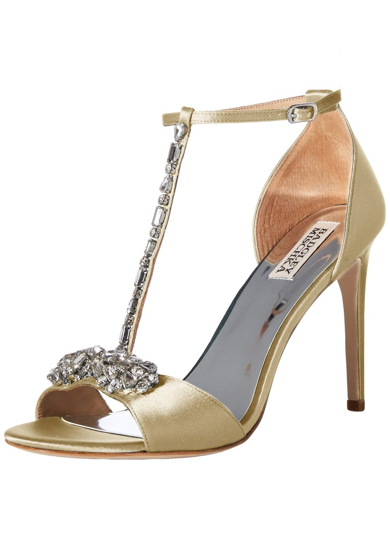 Badgley Mischka Women's Pascale Heeled Sandal   M US