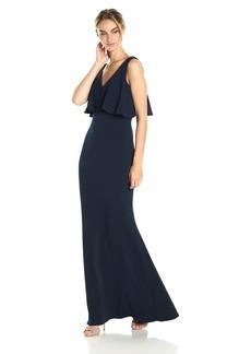 Badgley Mischka Women's Popover Gown