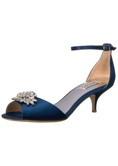 Badgley Mischka Women's Sainte Heeled Sandal   M US