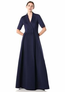 Badgley Mischka Women's Scuba Coat Dress