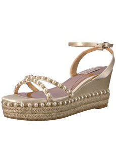Badgley Mischka Women's Skye Espadrille Wedge Sandal