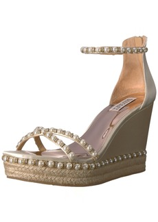 Badgley Mischka Women's Sloan Espadrille Wedge Sandal