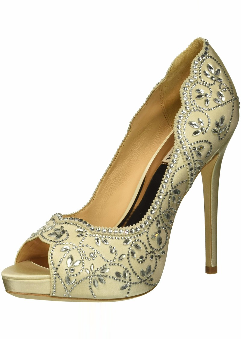Badgley Mischka Women's Valentina Pump   M US