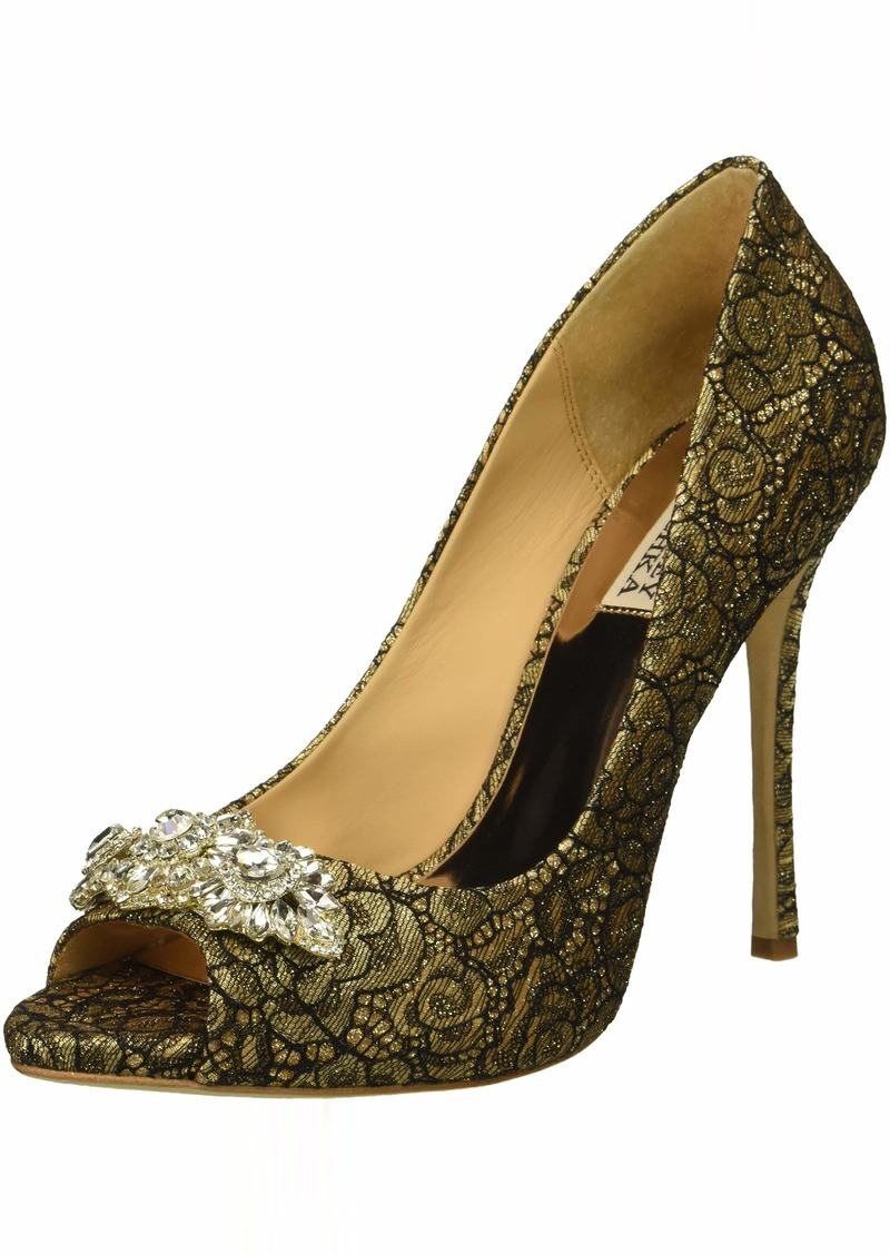 Badgley Mischka Women's Vanetia II Pump   M US