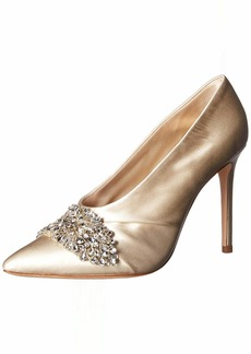 Badgley Mischka Women's Vanilla Pump   M US