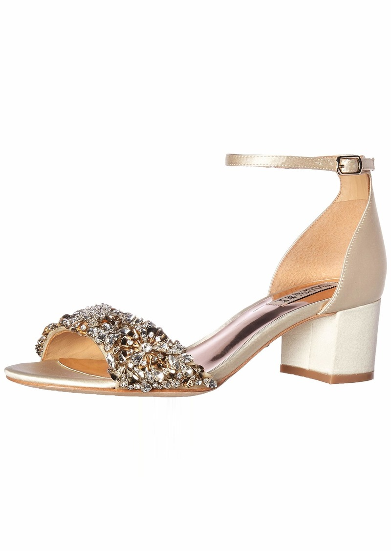 Badgley Mischka Women's Vega Heeled Sandal   M US