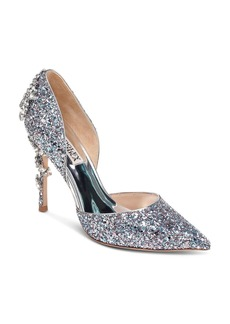 Badgley Mischka Women's Vogue III Crystal Embellished d'Orsay Pumps - 100% Exclusive