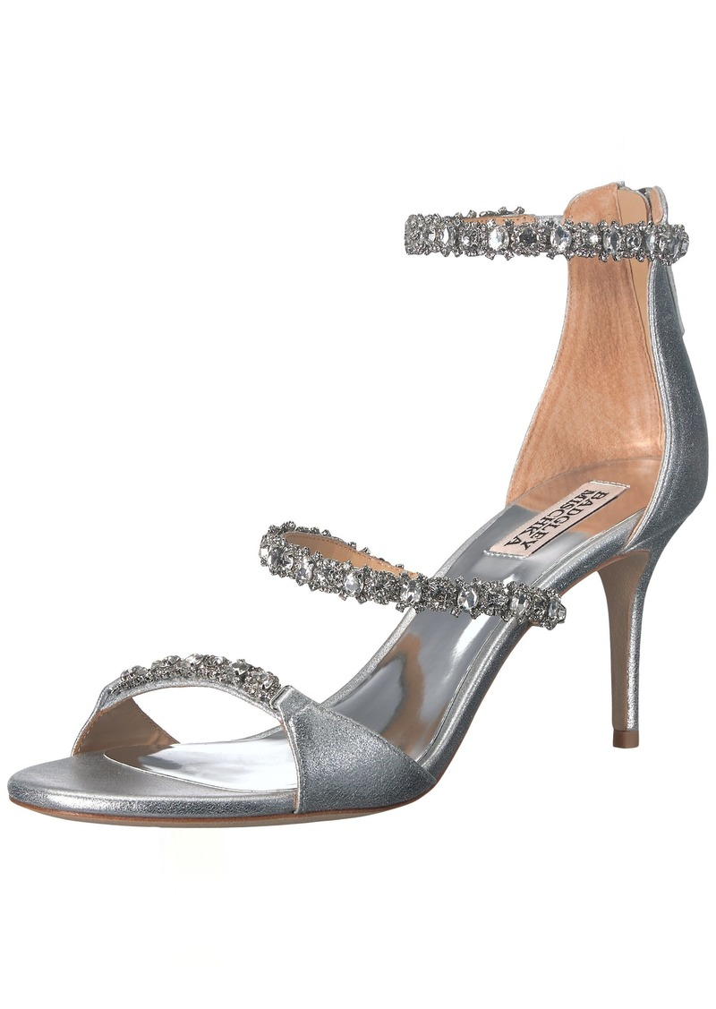 Badgley Mischka Women's Yasmine Heeled Sandal   M US