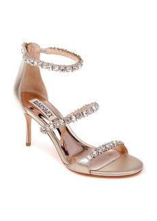 Badgley Mischka Yasmine Crystal Embellished Sandal (Women)