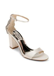 Badgley Mischka Zabella Embellished Ankle Strap Sandal (Women)