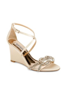 Badgley Mischka Zabrina Wedge Sandal (Women)