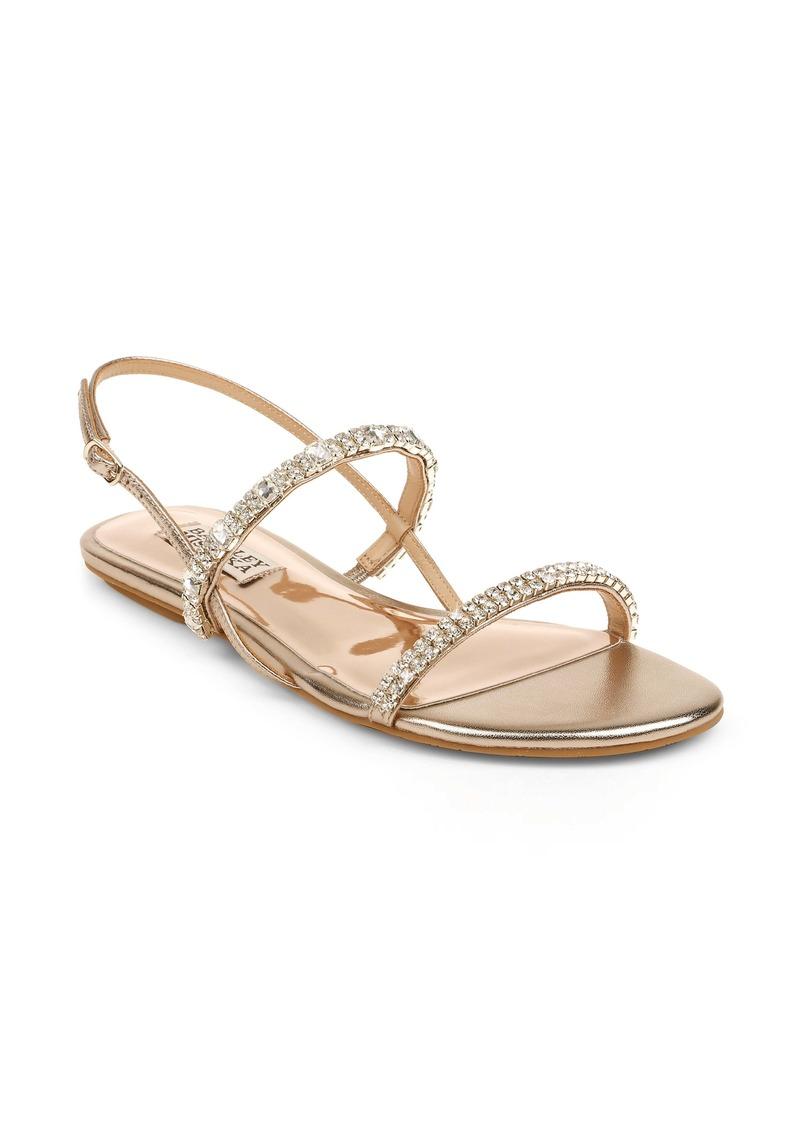 Badgley Mischka Collection Zandra Embellished Sandal (Women)
