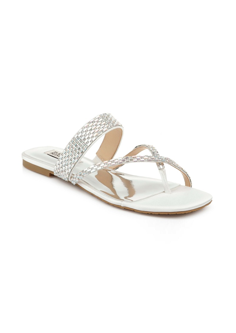 Badgley Mischka Zelah Embellished Sandal (Women)