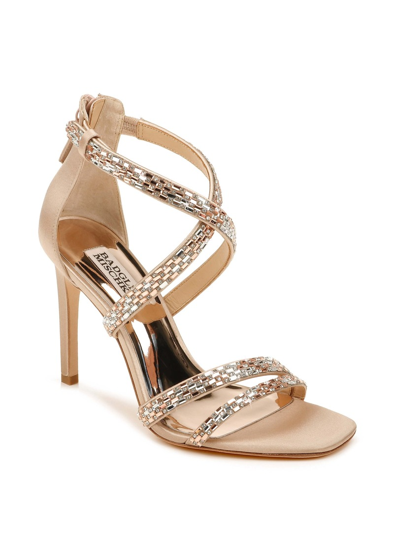 Badgley Mischka Zendaya Embellished Sandal (Women)