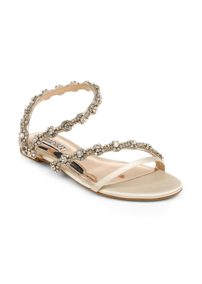 Badgley Mischka Collection Zia Embellished Sandal (Women)