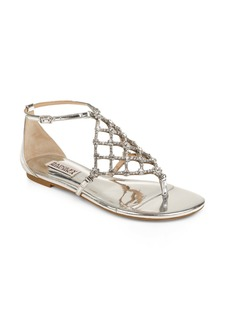 Badgley Mischka Zoanne Embellished Sandal (Women)