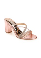 Badgley Mischka Collection Zoraya Embellished Slide Sandal (Women)