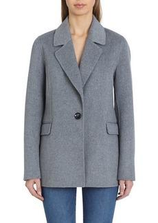 Badgley Mischka Bailey Double Face Wool Blazer