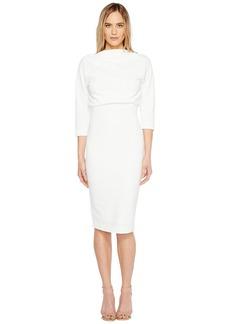 Badgley Mischka Boatneck Dress
