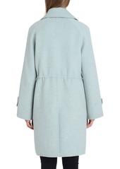 Badgley Mischka Breanne Collared Wool Anorak Coat