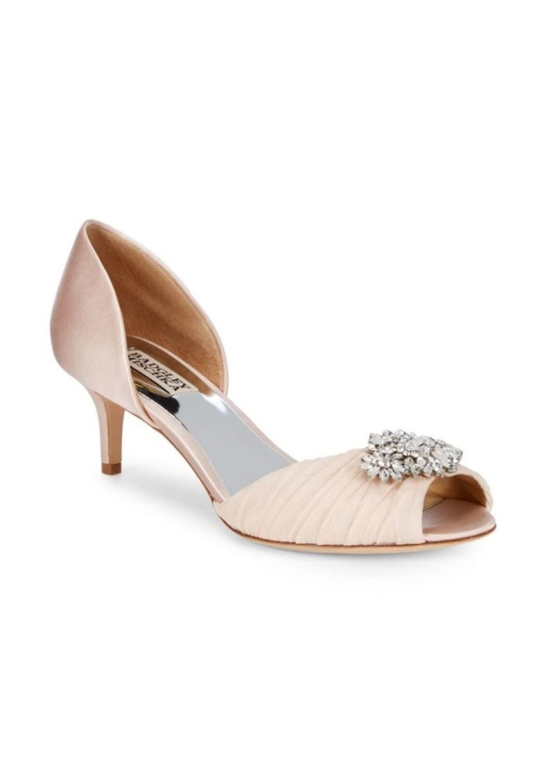 Badgley Mischka Caitlin Embellished D'Orsay Pumps