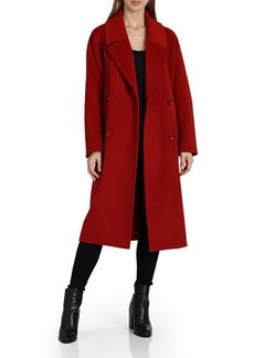 Badgley Mischka Cameron  Double-Breasted Wool Coat