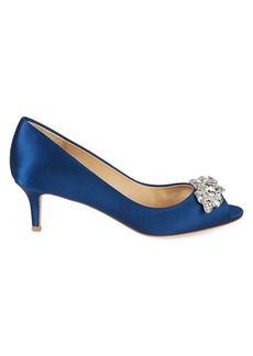 Badgley Mischka Edith Embellished Stiletto Pumps