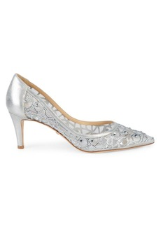 Badgley Mischka Eileen Embellished Stiletto Pumps