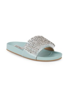 Badgley Mischka Embellished Logo Slides