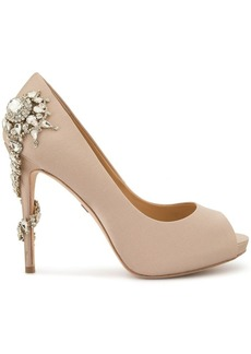 Badgley Mischka embellished open-toe sandals