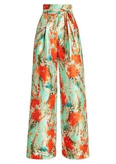 Badgley Mischka Floral Printed Pants