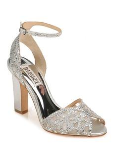 Badgley Mischka Hart Crystal Embellished Sandal