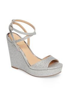 Jewel Badgley Mischka Ambrosia Wedge Sandal (Women)