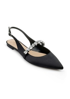 Jewel Badgley Mischka Bambi Slingback Skimmer Flat (Women)